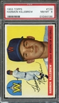 1955 TOPPS 124 HARMON KILLEBREW RC PSA NM-MT 8