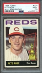1964 TOPPS 125 PETE ROSE ALL-STAR ROOKIE PSA NM+ 7.5