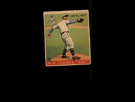 1933 Goudey 132 Jim Elliott RC POOR #D817001
