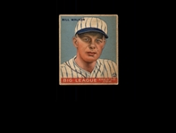 1933 Goudey 94 Bill Walker RC VG #D822687
