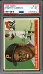 1955 TOPPS 164 ROBERTO CLEMENTE RC PSA VG-EX 4