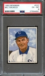 1950 BOWMAN 237 BILL SALKELD PSA EX-MT 6