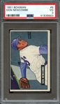 1951 BOWMAN 6 DON NEWCOMBE PSA VG 3