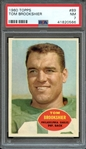 1960 TOPPS 89 TOM BROOKSHIER PSA NM 7