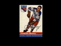 1954 Topps 32 Camille Henry RC EX-MT #D859833