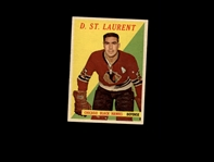 1958 Topps 5 Dollard St.Laurent EX-MT #D859857
