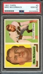 1957 TOPPS 3 MIKE McCORMACK PSA GEM MT 10