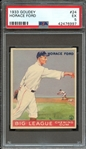 1933 GOUDEY 24 HORACE FORD PSA EX 5