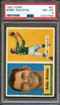 1957 TOPPS 61 BOBBY WALSTON PSA NM-MT 8