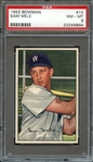 1952 BOWMAN 15 SAM MELE PSA NM-MT 8