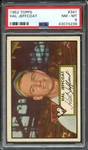 1952 TOPPS 341 HAL JEFFCOAT PSA NM-MT 8