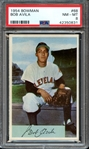 1954 BOWMAN 68 BOB AVILA PSA NM-MT 8