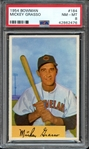1954 BOWMAN 184 MICKEY GRASSO PSA NM-MT 8