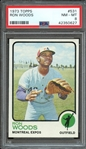 1973 TOPPS 531 RON WOODS PSA NM-MT 8