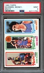 1980 TOPPS McGINNIS, MONEY, BRATZ PSA MINT 9