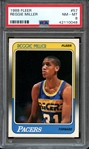 1988 FLEER 57 REGGIE MILLER PSA NM-MT 8
