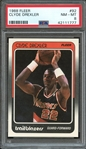 1988 FLEER 92 CLYDE DREXLER PSA NM-MT 8