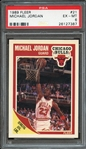 1989 FLEER 21 MICHAEL JORDAN PSA EX-MT 6