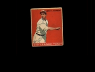 1933 Goudey 14 Henry Johnson RC VG #D937903