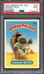 1985 GARBAGE PAIL KIDS STICKERS 36a WRAPPIN RUTH STICKERS PSA MINT 9