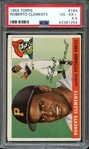 1955 TOPPS 164 ROBERTO CLEMENTE RC PSA VG-EX+ 4.5