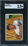1951 BOWMAN 305 WILLIE MAYS RC SGC GOOD+ 2.5