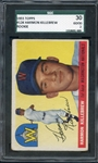 1955 TOPPS 124 HARMON KILLEBREW RC SGC GOOD 30 / 2