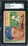 1956 TOPPS 167 HARRY DORISH WHITE BACK SGC VG+ 45 / 3.5