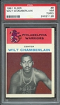 1961 FLEER 8 WILT CHAMBERLAIN PSA NM 7 (MC)