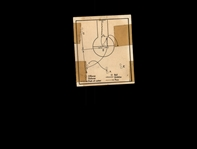 1948 Bowman 11 Basketball Play/Single cut with return pass to post POOR #D1,006985