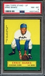 1964 TOPPS STAND-UP ERNIE BANKS PSA NM-MT 8