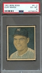 1951 BERK ROSS 43557 CLIFF MAPES PSA EX-MT 6