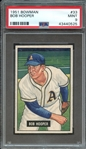 1951 BOWMAN 33 BOB HOOPER PSA MINT 9