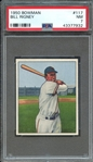 1950 BOWMAN 117 BILL RIGNEY PSA NM 7