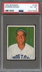 1950 BOWMAN 136 WARREN ROSAR PSA EX-MT 6
