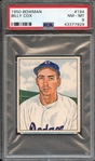 1950 BOWMAN 194 BILLY COX PSA NM-MT 8