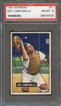 1951 BOWMAN 31 ROY CAMPANELLA PSA NM-MT 8
