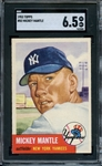 1953 TOPPS 82 MICKEY MANTLE SGC EX-MT+ 6.5