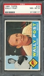1960 TOPPS 13 WALLY POST PSA NM-MT 8