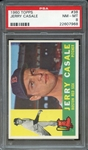 1960 TOPPS 38 JERRY CASALE PSA NM-MT 8