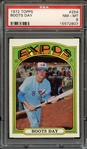 1972 TOPPS 254 BOOTS DAY PSA NM-MT 8