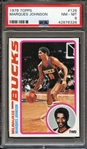 1978 TOPPS 126 MARQUES JOHNSON PSA NM-MT 8