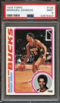 1978 TOPPS 126 MARQUES JOHNSON PSA MINT 9